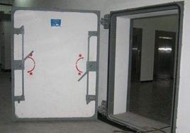混凝土单扇防护密闭门
